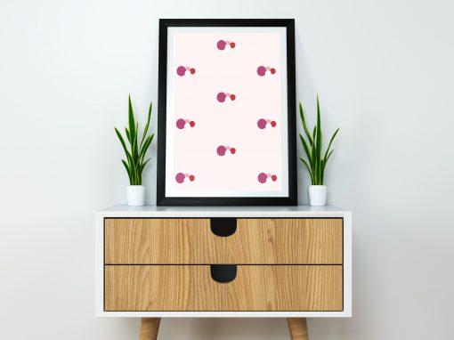 geometric pattern by irenecristalina®
