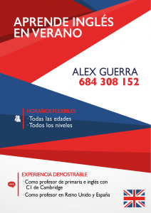 Flyer Alex Guerra